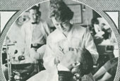 Catherine Tomeny, pictured here, was among the first women to study dentistry.