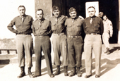 Loyola dental alumni serving together in Italy during World War II