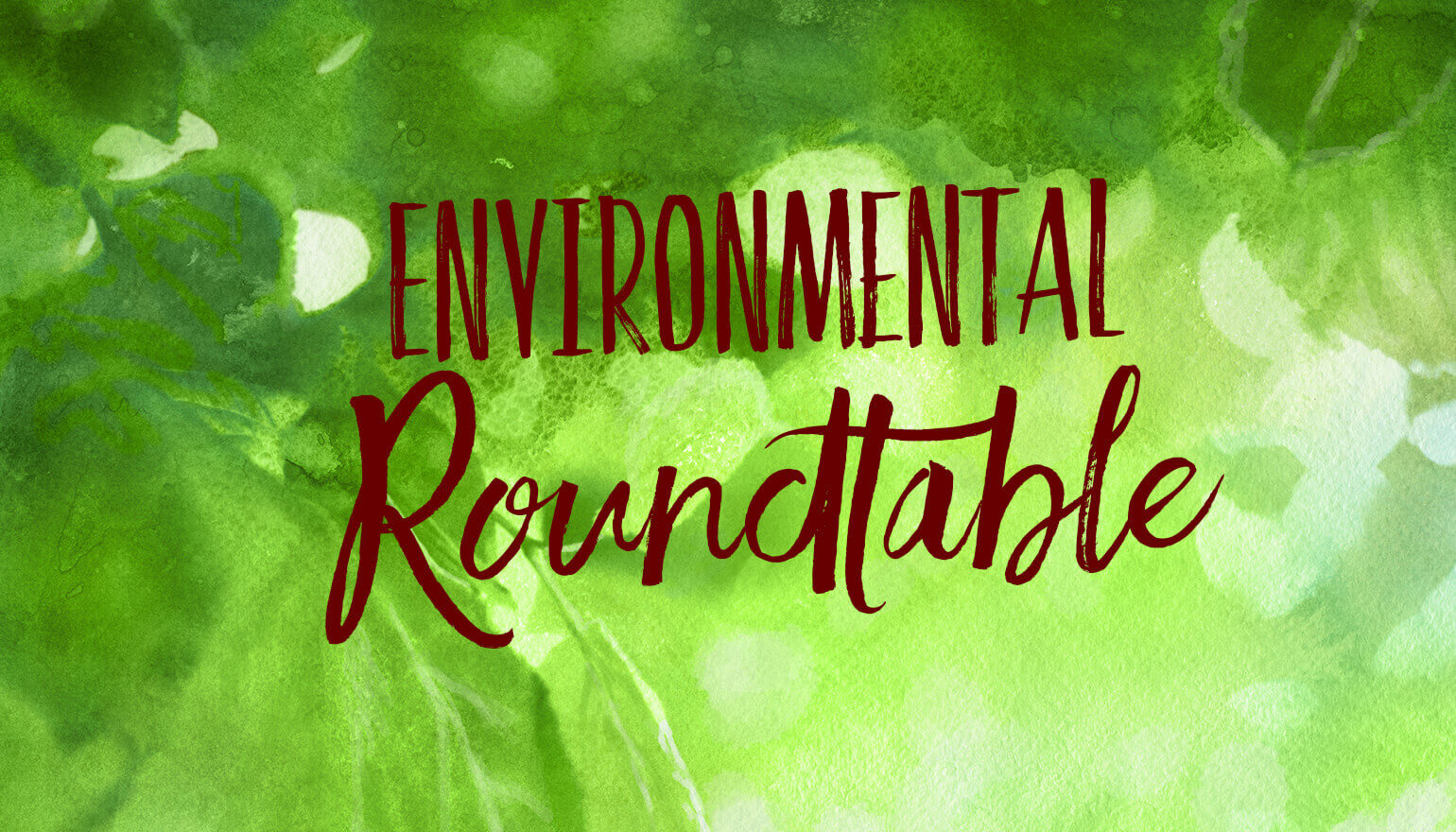 environmental round table graphic