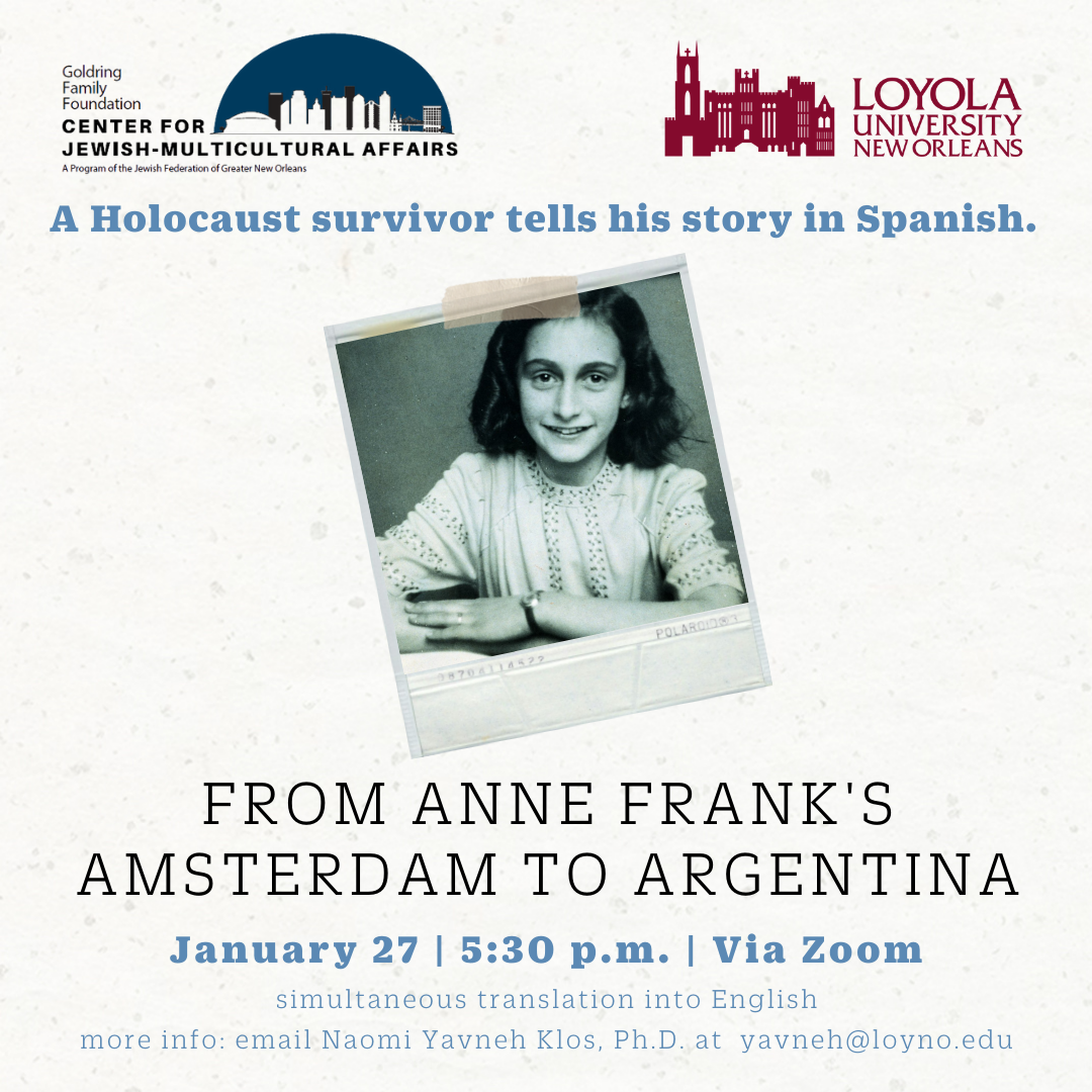 From Anne Frank's Amsterdam to Argentina