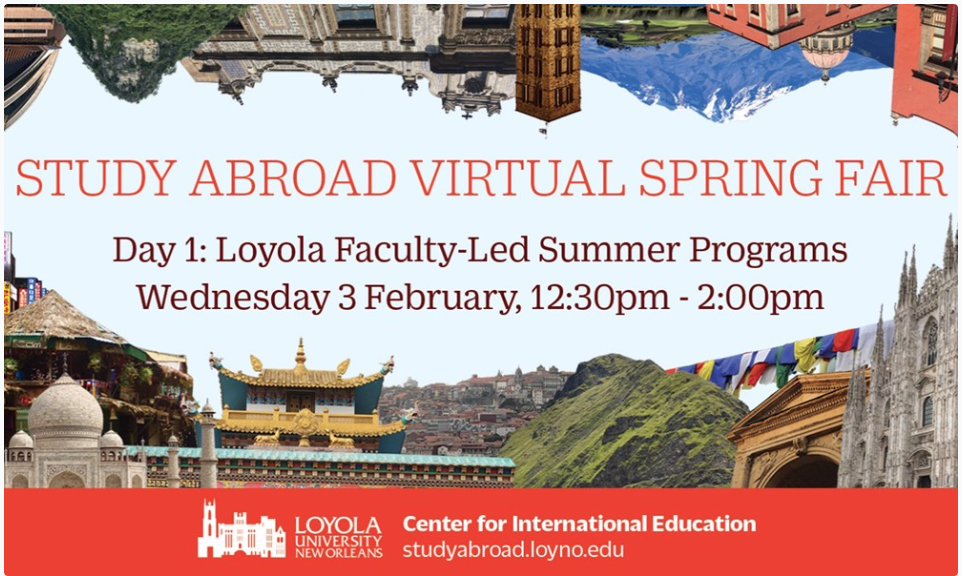 Study Abroad Spring Fair: Day 1